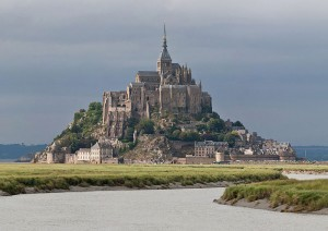 Mont Saint Michel – západní pobřeží Francie